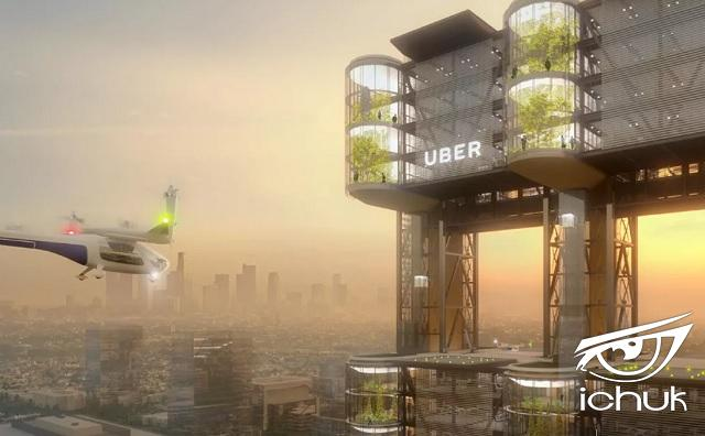 Uber's flying-taxi plans may be a step closer with AT&T 5G.jpg