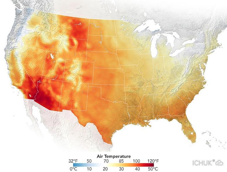 美国西南部连续多日承受创纪录高温 电力系统濒临故障边缘