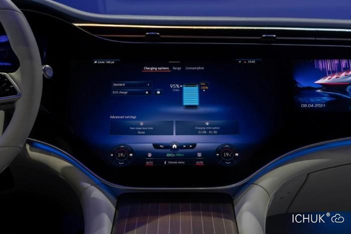 Mercedes me Charge充电生态系统首次出现在奔驰EQS电动轿车上